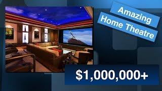 Скачать My ONE MILLION DOLLAR Dream Home Theatre Weekly Tech Vibe S1 E4