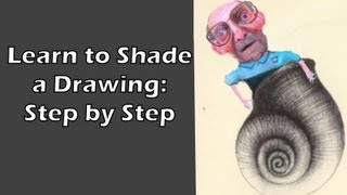 Shading Tutorial- Draw and Shade a Seashell Step by Step