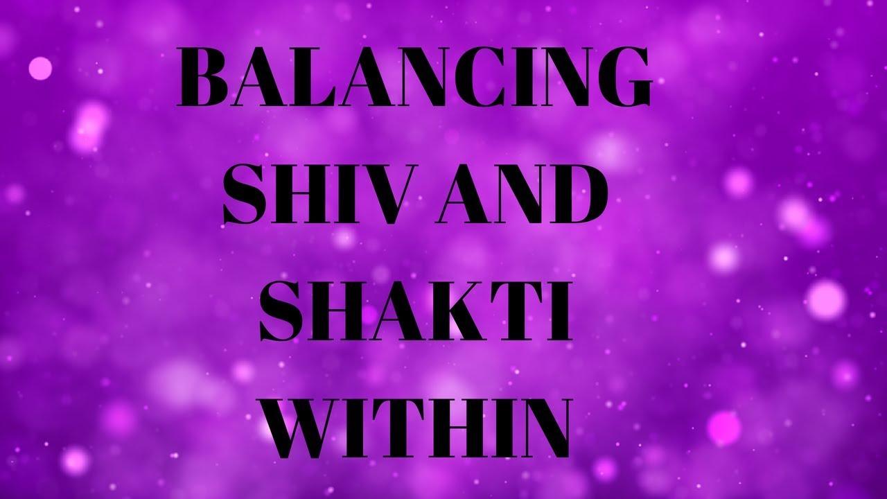hindi balancing divine masculine shiv and divine feminine shakti