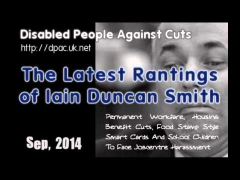 The Latest Rantings of Iain Duncan Smith