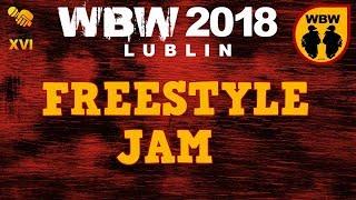 JAM  WBW 2018  Lublin # Koro, Q-Key, Sid, Iwo, Kałach, Luber, Seb, Pajczao