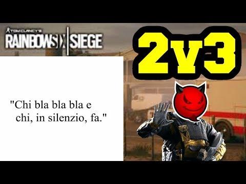 2v3 GRANDI CITAZIONI (DraKe hai le hack parte 3) - Rainbow six siege