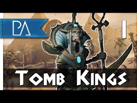 GLORY TO THE TOMB KINGS - Total War: Warhammer 2 - Tomb Kings Campaign - Khatep #1