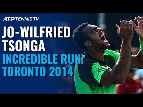 Tsonga's incredible run in Toronto