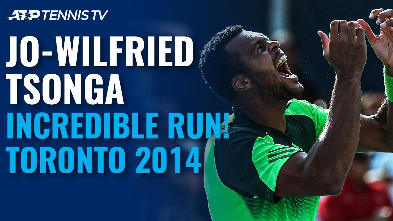 Jo-Wilfried Tsonga's INCREDIBLE Title Run | Toronto 2014 Highlights