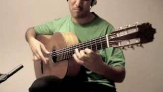 Flamenco Guitar (Falseta por Alegria)