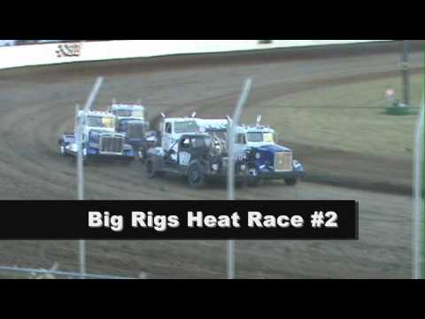 Grays Harbor Raceway, July 24 2010, Rolling Thunder Big Rigs Heat Races 1 and 2