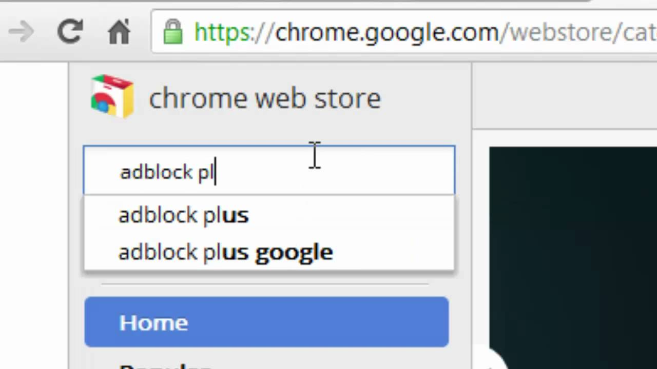 How To Enable: AdBlock Plus on Google Chrome - YouTube