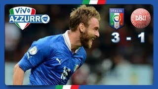 Italia-Danimarca 3-1 (16 ottobre 2012)