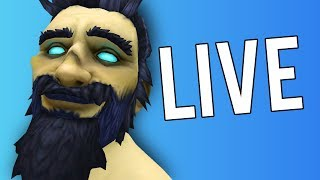 SHADOWLANDS WAITING ROOM, HOPE 8.3 IS SOON!! - WoW: Battle For Azeroth 8.2 (Livestream)