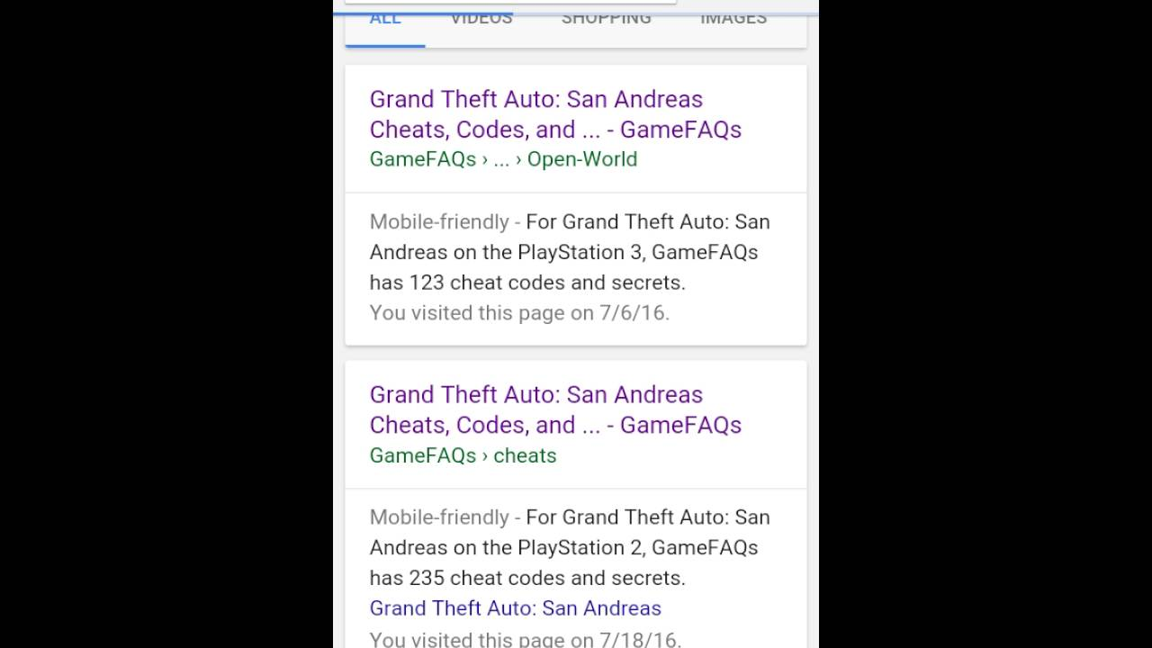 <b>Grand Theft Auto San Andreas</b>|PS3 Working <b>cheat codes</b> - YouTube