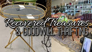 Thrift with Me-Recovered Treasures + Goodwill Thrift Shopping-Project Thrift 52-Week 6