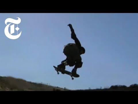 World's Largest Skateboard Ramp: Bob Burnquist's Mega Ramp   The New York Times