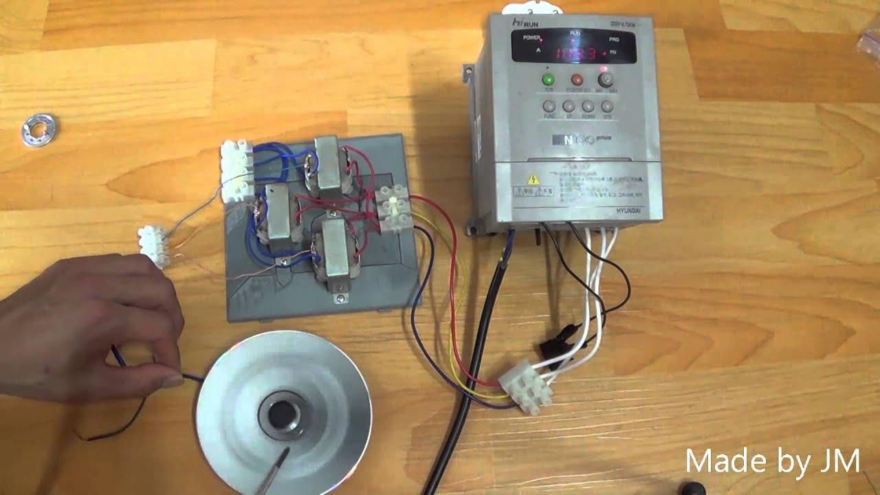 HDD motor driver (threephase industrial motor inverter