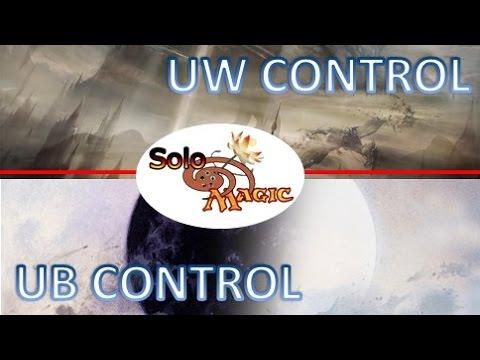 Partida Comentada Modern: UW Control vs UB Control (PostBannings) #mtg