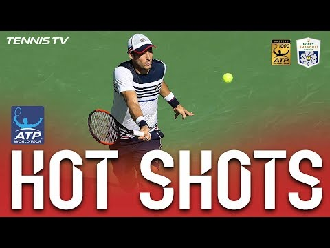 Hot Shot: Lajovic Shows Off World-Class Speed Shanghai 2017