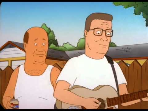 Hank Hill and Connie Soup discover she plays bluegrass