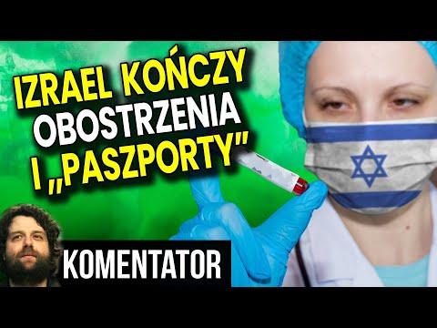 Izrael Rezygnuje z Obostrzeń i Paszportów Covidowych! Co Zrobi Polska?  Analiza Komentator Finanse