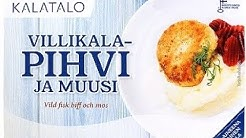 TESTI: Villikalapihvi ja muusi, Helsingin Kalatalo Oy