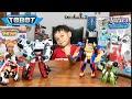 Tobot Tritan  XYZ  VS Tobot Quatran  DCWR  - Kuat Mana Hayo ???