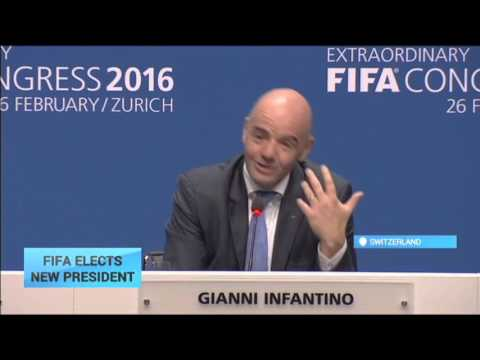 FIFA President Vote: Gianni Infantino elected new FIFA chief