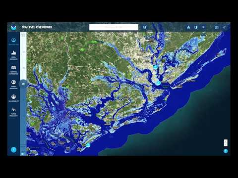 Sea level rise in the the South Carolina Lowcountry