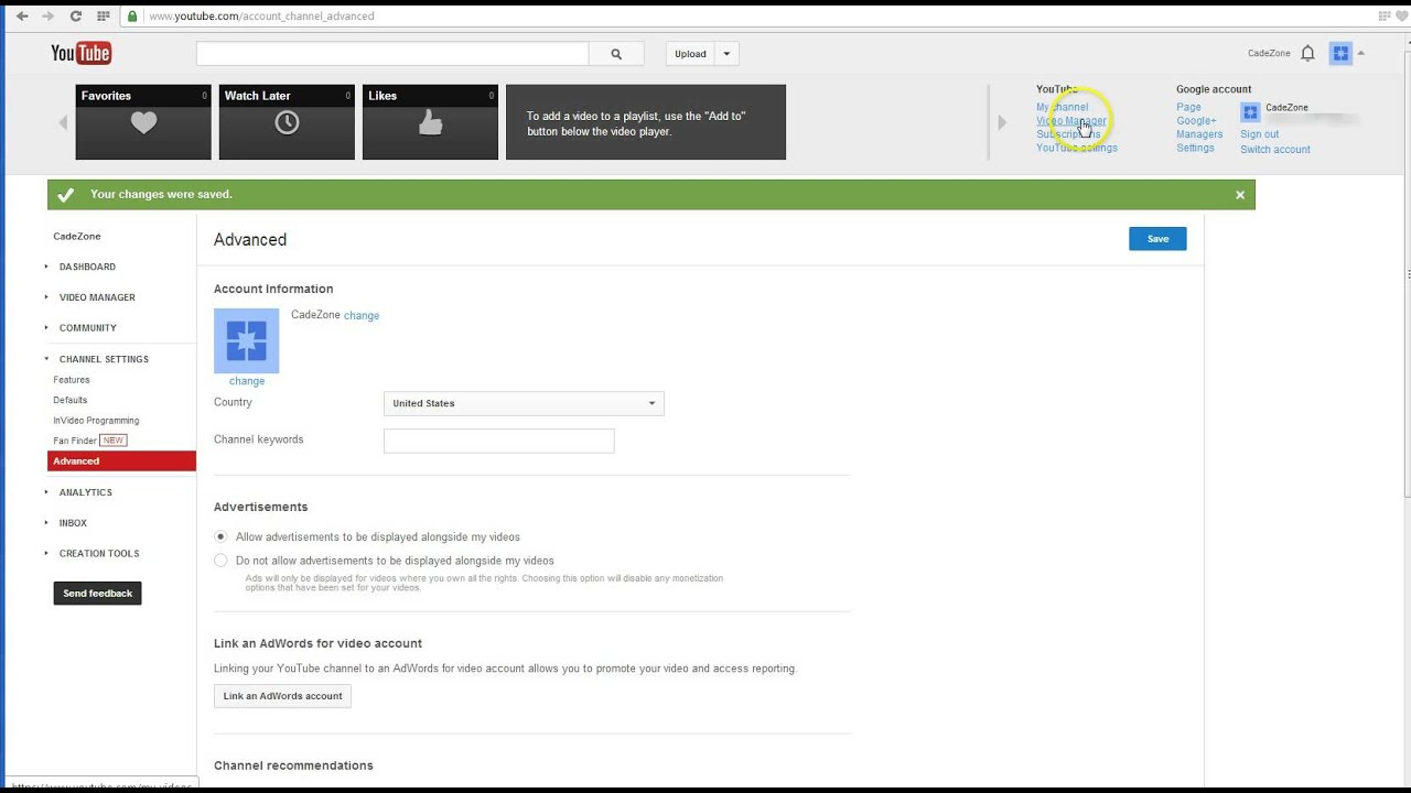 How to Fix Monetization Feature Not Available in Your Country & How to Set Up a Custom YouTube ...