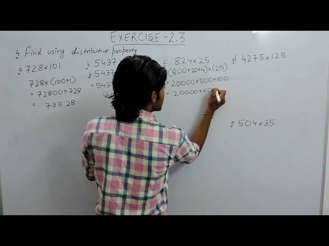 Exercise 2.3 Question 4 Chapter 2 (Whole Numbers) NCERT/CBSE Solutions for Class 6th Maths