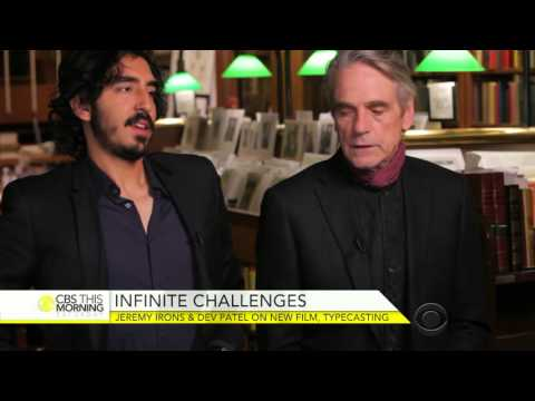 "Dev Patel and Jeremy Irons on ""The Man Who Knew Infinity"""