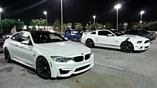 BMW M4 vs Mustang 5.0 vs SRT4