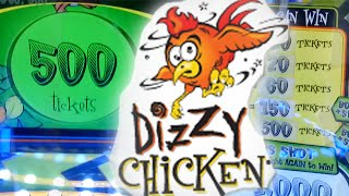 Dizzy Chicken Arcade Game - JACKPOT!!!