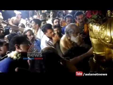 Yesudas visits Sabarimala sings Harivarasanam