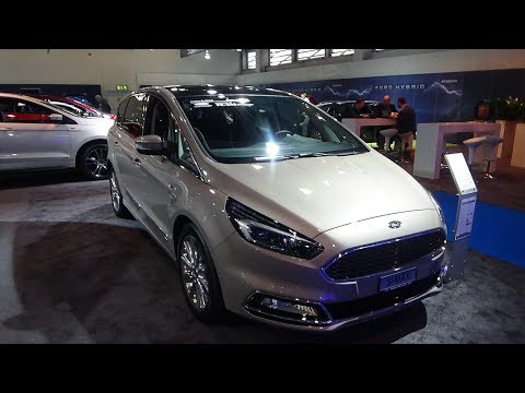 2019 Ford S-Max Vignale 4x4 2.0 190 - Exterior And Interior - Auto Zürich Car Show 2019