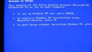 Error Loading Operating System continued  Solution Found
