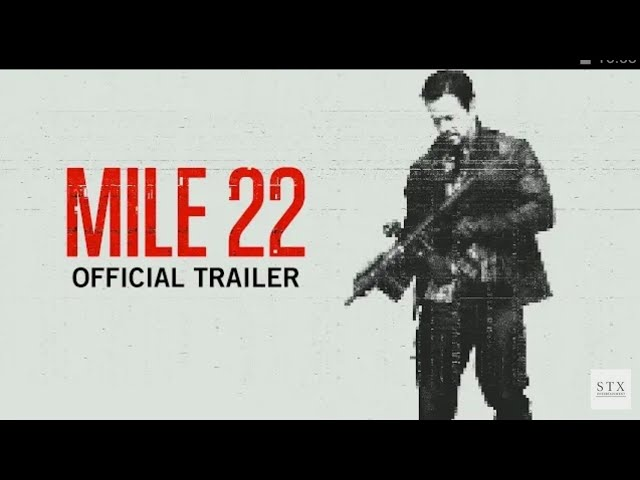 Mile 22 | Official Trailer | Coming Soon #1