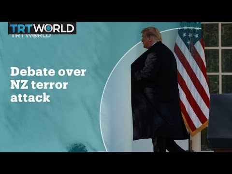US politics divided over the New Zealand terror attacks