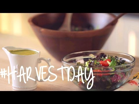 Recipe: How to Make Avocado Ranch Dressing | #HarvestDay | Oprah Online