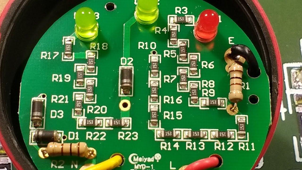 good versus evil socket testers with schematics  [ 1280 x 720 Pixel ]