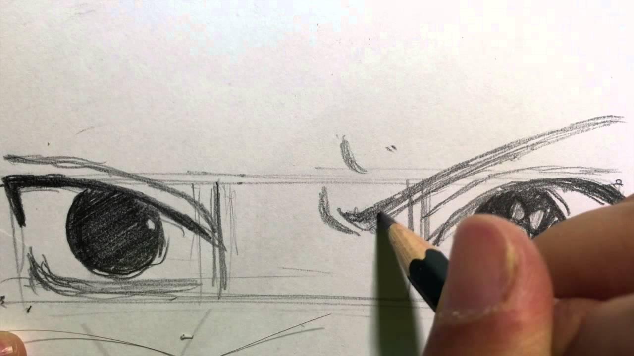 How To Draw Manga Eyes Sasuke Uchiha Naruto