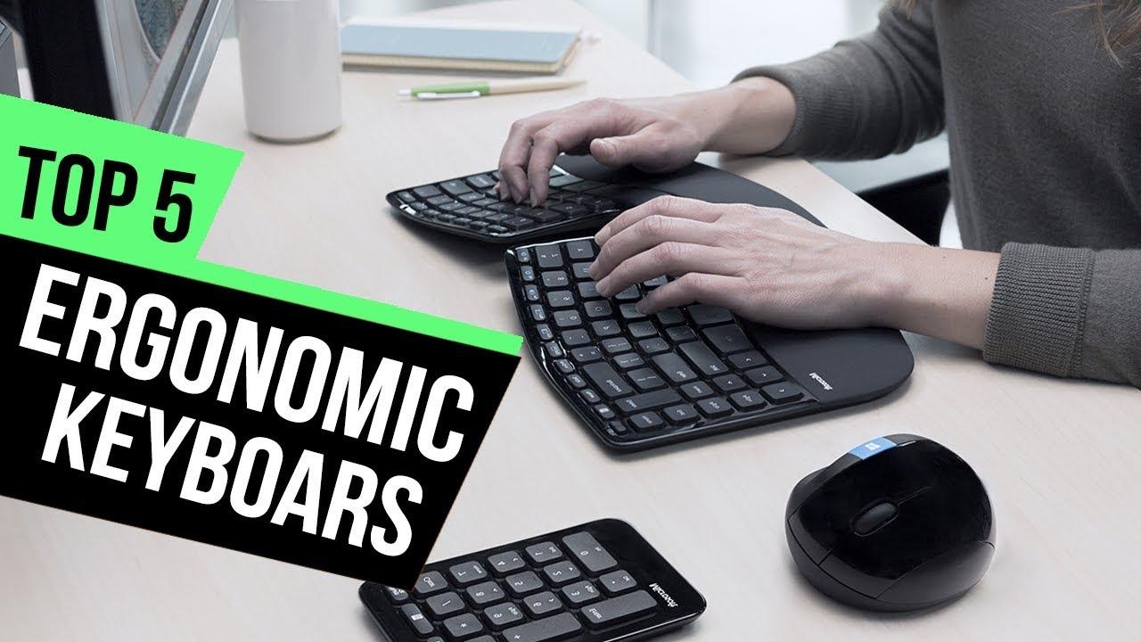 5 Best Ergonomic Keyboards Reviews