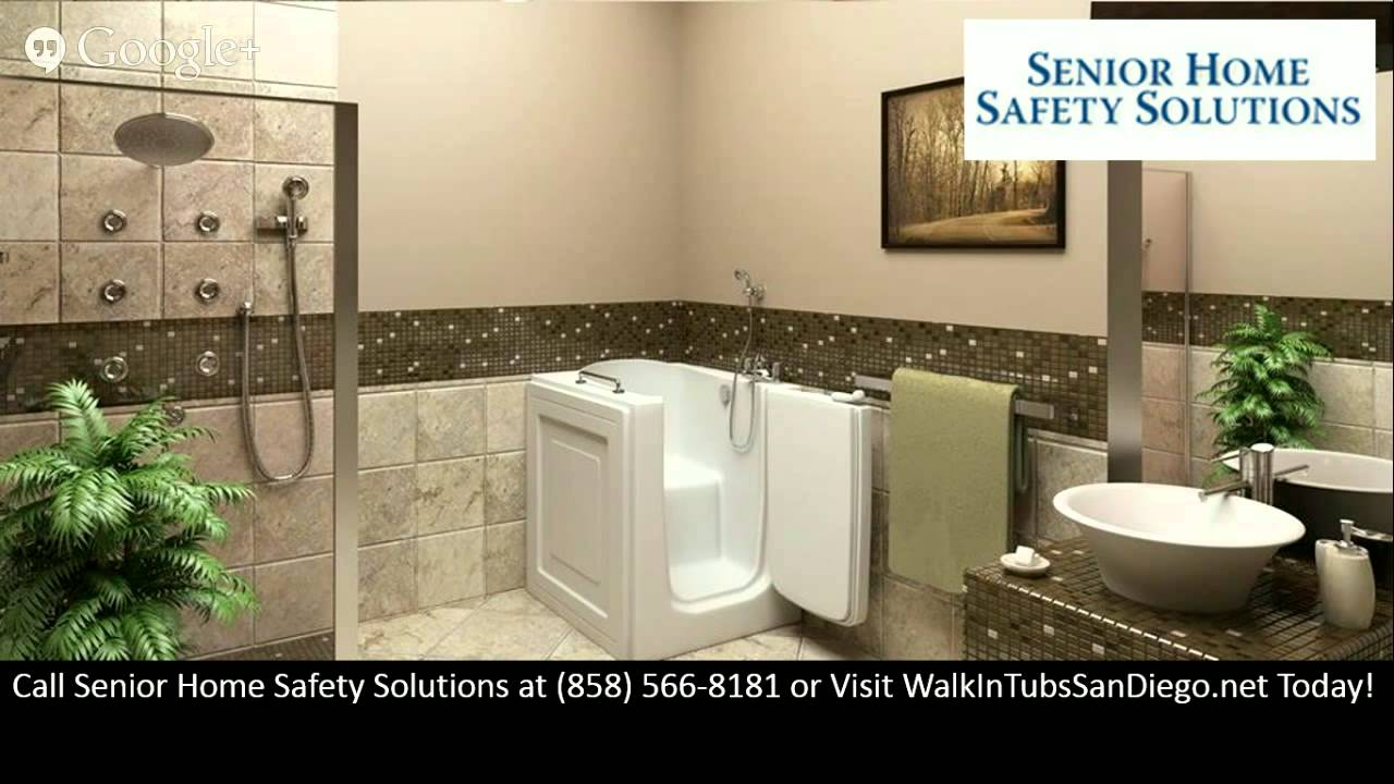 Walk In Tubs San Diego CA Walk In Bathtubs - YouTube