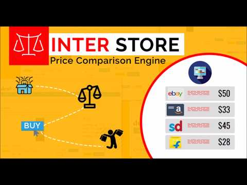 Create price comparison website with opencart and interstore extension