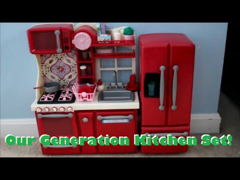 Review of Our Generation Kitchen Set! - YouTube