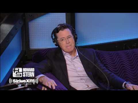Stephen Colbert & Howard Stern Rock Out To Rolling Stones Karaoke Howard Stern Show 2017