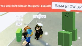 MINECRAFT CREEPERS IN ROBLOX!|ROBLOX EXPLOITING #91