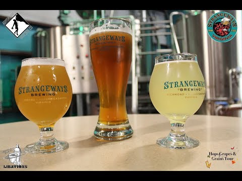 Hops Grapes and Grains Episode 10 - Strangeways Brewing FXBG