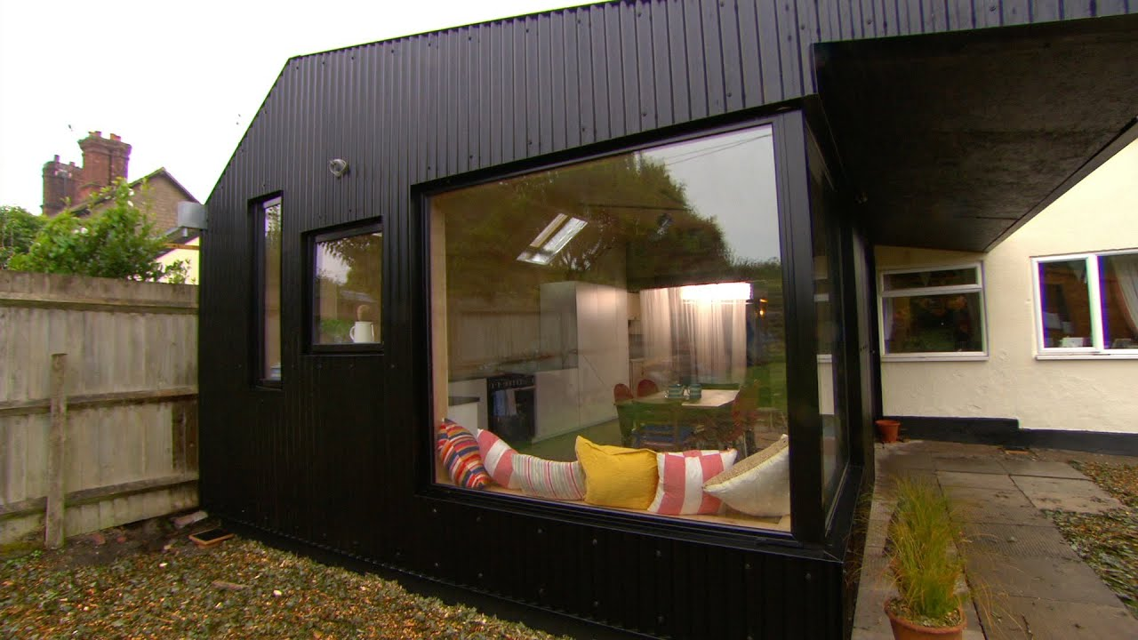 Building A Low Cost Extension Using Farmhouse Materials The 100k House Tricks Of Trade Bbc You