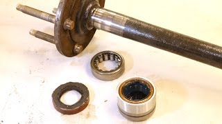 How To Repair Axle Bearings On GM 10-Bolt Rearends