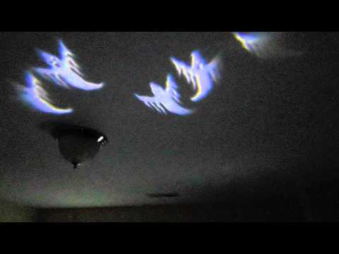Gemmy Led Lightshow Projection Ghosts Whirl A Motion Model