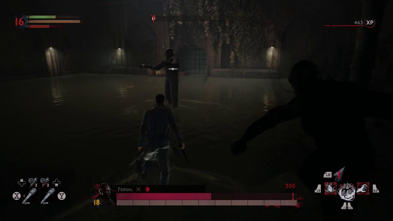 Vampyr Defeat Fergal Sewer Boss
